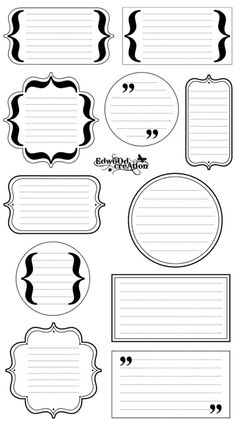 Free Printable Stationery, Printable Labels, Printable Stickers, Printable Planner, Planner Stickers, Printables, Free Planner, Planner Pages, Bullet Journal Ideas Pages
