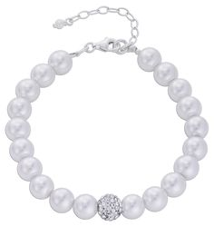 Bijou Brigitte  Armband - Perle