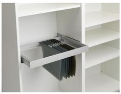 Beautiful Ikea Inreda Pull Out Frame Turns The Besta Bookshelf Into A Full Home  Office For Computer And Keyboard Storage And Filing Cabinet  Would It Work  In An ...
