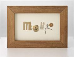 El diseñador Miguel Iguacen crea tipografía RRR desde el año 2007 con objetos que recoge en ciudades y elementos recolectados en plena naturaleza respetando el medio ambiente, en sus viajes y aventuras, elementos que le llaman especialmente la atención  y también material que sus amigos y amigas le envían o traen desde cualquier parte del mundo que después clasifica y selecciona para el proceso de creación. #typography #design #diseño #tipografía #regalos #gifts #soulgifts #regalos con alma