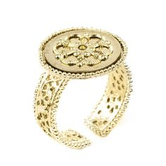 This is on it's way to me! Can't wait to get it! JJ Caprices - Crystal Shadow Ring - Gold