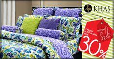 """KHAS Red Tag Sale"" KHAS TALLUAH Bed Set Up To 30%. OFF. Shop Online:https://goo.gl/4gA76B #redtagsale #khas #khasstores #openhousesale #sale #home #living #livethekhaslifestyle"