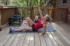 FitYummyMummy - 5 Flat Tummy Fat Burn Exercises for Busy Moms