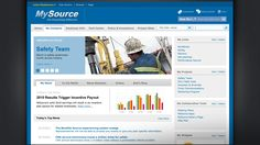 Intranet examples for IMS