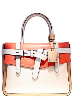 Reed Krakoff. I like this because it's different. Lots of color and things going on.  Looks really neat.