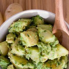 Creamy Vegan Avocado Potato Salad | STL Cooks