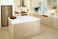 cream and white, does it go together? #kitchen