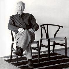 Wishbone chair... and Wegner!