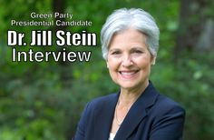 "Interview With Jill Stein—Presidential Candidate For the Green Party.""We talked with 2016 Green Party presidential candidate Dr. Jill Stein about her progressive policy positions, whether she will collaborate with Bernie Sanders, the Green party ""spoiler"" controversy, electoral reform, #BernieOrBust, and more! Enjoy!"""
