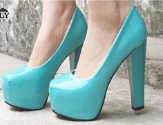 Love me some blue shoes