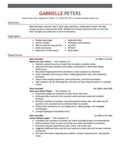 Resume Objective Sales Glamorous Monster  Pinterest  Job Resume Examples Job Resume And Resume .
