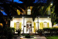 Key West Hemingway House wedding.
