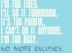 No more excuses.... Go here http://LeyvaML.Le-Vel.com sign up, Stop being tired, in pain, or too busy for it.... Start Thriving today at http://LeyvaML25.Le-Vel.com NO MORE EXCUSES START LIVING A HEALTHIER LIFESTYLE....