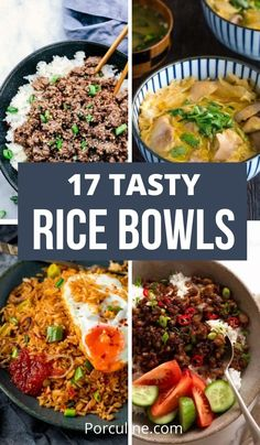 Casserole Recipes, Meat Recipes, Asian Recipes, Mexican Food Recipes, Dinner Recipes, Cooking Recipes, Healthy Recipes On A Budget, Cooking On A Budget, Rice Bowls