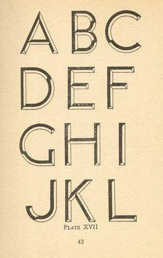 Modern Lettering 1940