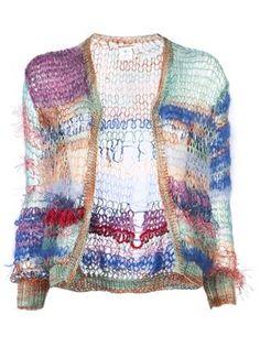 Rodarte Skinny Knit Cardigan - - Farfetch.com