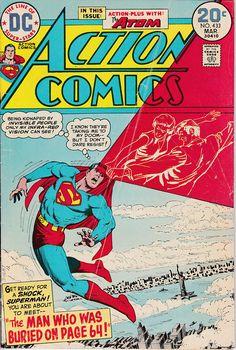Action Comics 433 1938 DC   March 1974  DC Comics  Grade