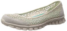 Skechers Sport Women's Sweetpea Slip-On Flat,Natural,7.5 M US Skechers http://www.amazon.com/dp/B00FPO8UTE/ref=cm_sw_r_pi_dp_a.J6vb1B2B17E