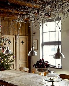Natural Christmas Kitchen