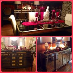 My Dining Room U0026 Living Room Christmas Time @Z Gallerie. Mirrored FurnitureChristmas  ...