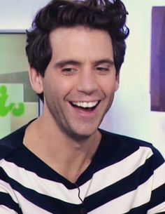 Seeing him happy makes me happy