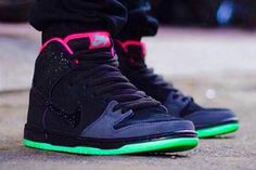 "Nike SB Dunk high ""northern lights"""
