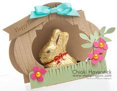 Bunny Hutch Easter Treatholder