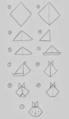 Sempre criança: http://www.ohcrafts.net/paper-origami-bunny.php