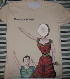 Neutral Milk Hotel Tshirt by antiaxelsora.deviantart.com
