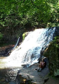 Wadsworth Falls State Park - Middletown, Connecticut =  hiking, stream fishing, mountain biking, swimming, picnic tables, bathrooms, waterfall
