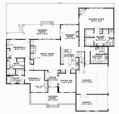 House Plans & Designs | Monster House Plans