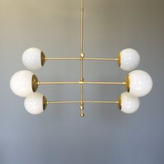 Brass Para Deko Chandelier Lighting by DuttonBrown on Etsy