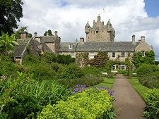 Cawdor Castle.... as in Macbeth, Thane of Cawdor. Great memories of my mom and our visit there