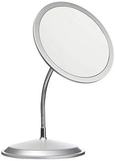 Double Vision Gooseneck Vanity Wall Mount Mirror 5x 10x Magnification Made In The Usa Review Wall Mounted Mirror Makeup Mirrors Mirror