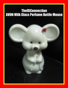 Christmas Avon Mouse Perfume Bottle retro by TheIDconnection, $15.00