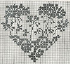 Сердечки /  / Схемы вышивки крестом