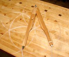 Dan's Shop: Wooden Chalkboard Compass
