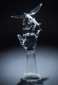 Stunning Glass Sculptures by Robert Mickelsen