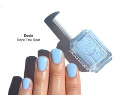 The perfect blue polish for summer.
