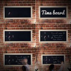 Time board by Julia Kononenko, via Behance