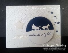 Stampin' Up! JIngle All the Way by Melissa Davies @rubberfunatics #rubberfunatics #stampinup