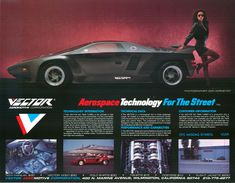 Vector W2 Twin Turbo, 1988-1989 - #1