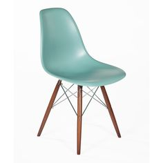 Control Brand Green The Mid-Century Eiffel Dining Chair (305 ILS) ❤ liked on Polyvore featuring home, furniture, chairs, dining chairs, mid century kitchen chairs, mid century modern dining chairs, green dining chairs, midcentury chair and control brand furniture