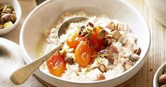Get a tasty start to the day with Curtis Stone's sweet, nutty bircher muesli.