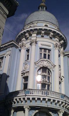 A pretty building in the back streets of Novi Sad