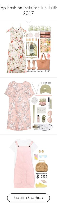"""""""Top Fashion Sets for Jun 16th, 2017"""" by polyvore ❤ liked on Polyvore featuring Stuart Weitzman, Pedro García, Rolex, H&M, MAKE UP FOR EVER, Jules Smith, Birchrose + Co., Rifle Paper Co, Urban Decay and Hot Topic"""