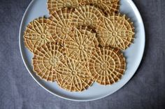Meyer Lemon Pizzelle | Food52