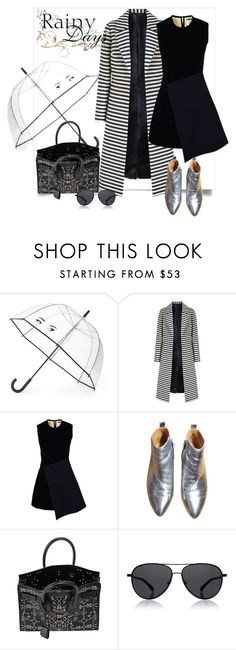 """rain"" by retnoayu ❤ liked on Polyvore featuring Kate Spade, FAUSTO PUGLISI, Yves Saint Laurent, The Row, women's clothing, women, female, woman, misses and juniors"