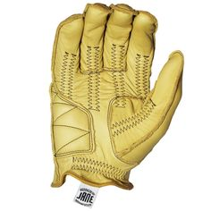JANE RIDING GLOVE - TAN – Jane Motorcycles