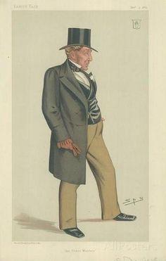 Sir Daniel Gooch by Spy in Vanity Fair